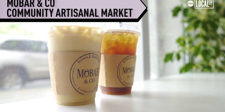 Mobar & Co.  قهوه و جامعه سرو می کند
